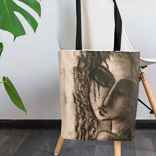 Designer Portrait Tote bag