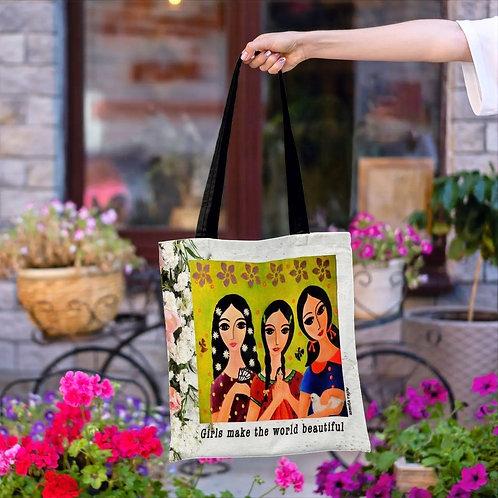 Beautiful daughters Tote bag