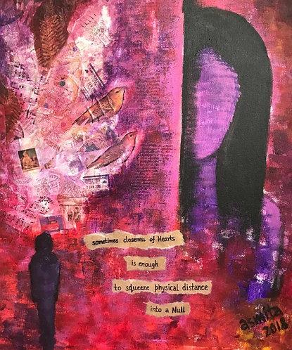 Closeness of Hearts- Wall Art Print