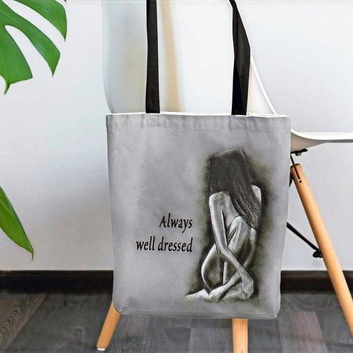 Elegant Nude Tote bag