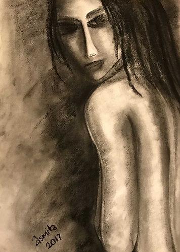 Nude-2- Wall Art Print