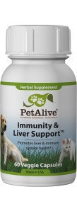 PetAlive Immunity and Liver Support™ for Cats & Dogs (Veg Cap)
