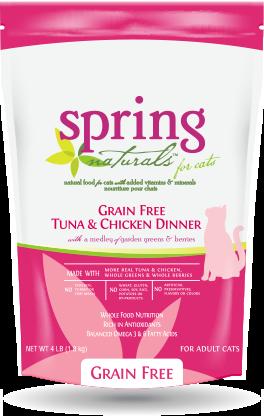 Spring Naturals Grain Free Tuna & Chicken Dinner