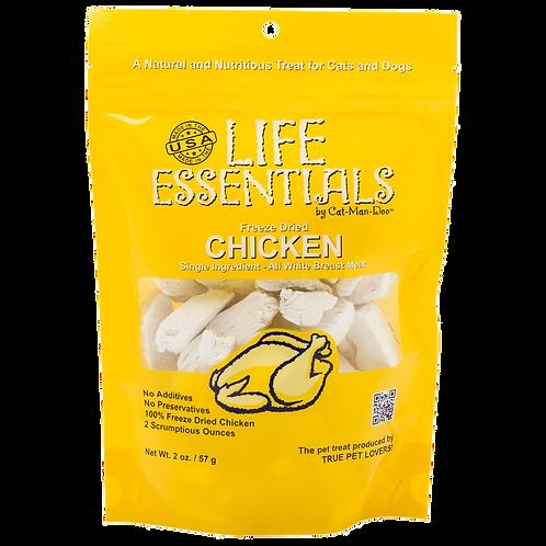 Life Essentials Freeze Dried Chicken by Cat-Man-Doo