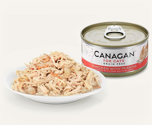 Canagan Wet Food for Cats (12 x 75g cans)