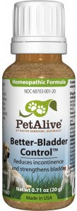 PetAlive Better-Bladder Control™ for Pet Incontinence Symptoms- Granules