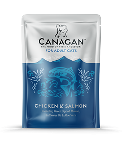 Canagan Wet Food for Cats (8 x 85g pouches)
