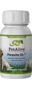PetAlive Parasite Dr.™ for Digestion Support in Dogs & Cats