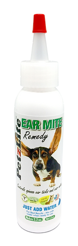 Petzlife Earmite Remedy 2oz