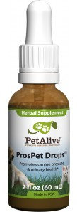 PetAlive ProsPet Drops™ for Prostate Health in Canines