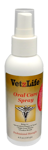 Vetzlife Oral Care Spray 4.5oz