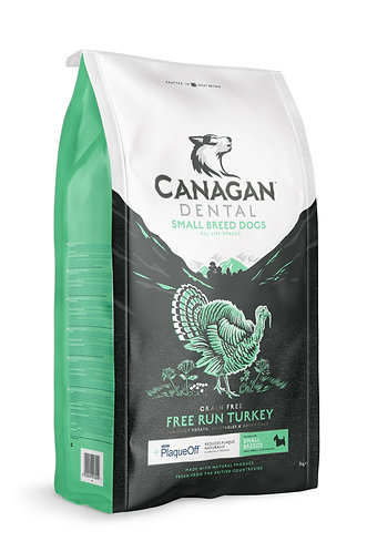 Canagan Free-Run Turkey Dental For Small Breed Dogs