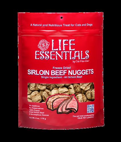 Life Essentials Freeze Dried Sirloin Beef 3oz