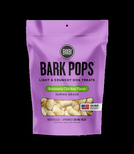 BIXBI BARK POPS ROTISSERIE CHICKEN - 4oz