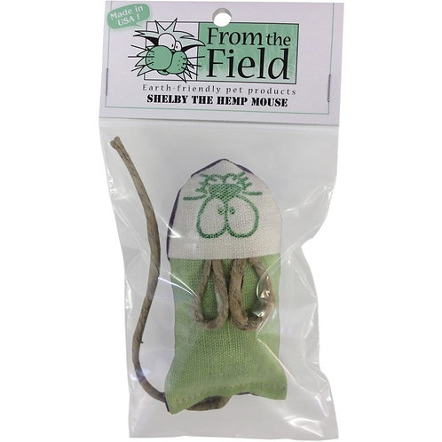 From the Field Shelby The Hemp Mouse - 2oz