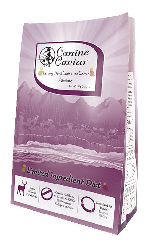 Canine Caviar Leaping Spirit Venison Grain Free For Dogs
