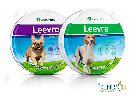 Leevre Ourofino Pet GENESE3D Ilustração 3D