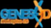 Logo GENESE3D Ilustração 3D