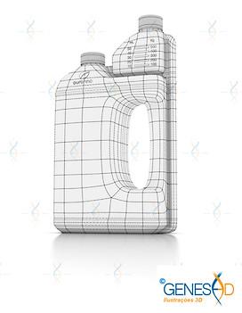 Herbalvet Ourofino Pet Wire GENESE3D Ilustração 3D