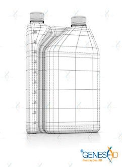 Metacell Ourofino Equinos Wire GENESE3D Ilustração 3D