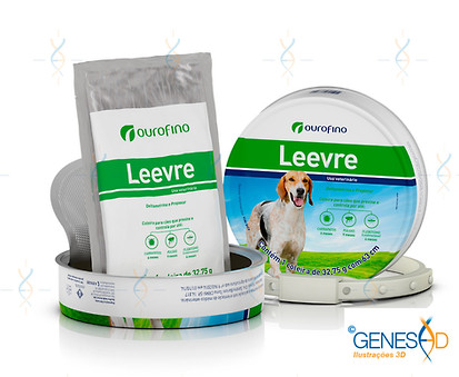 Leevre Ourofino Pet II GENESE3D Ilustração 3D