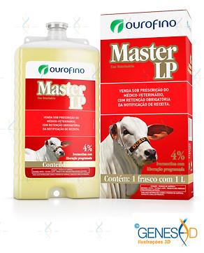 Master LP Ourofino GENESE3D Ilustração 3D