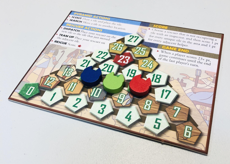 Cleocatra boardgame score track