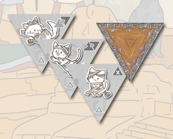 Cleocatra boardgame Mummy tile expansion