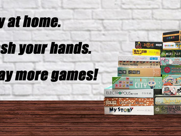 Stay at home and play more games!