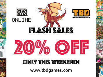 GenCon Online Flash Sales!
