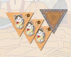 Cleocatra boardgame Caesar tile expansion