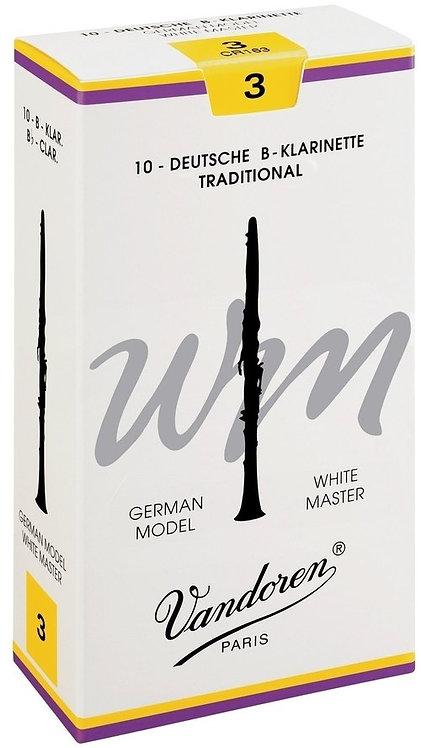 VANDOREN White Master Bb Klarinette, deutsche Griffweise