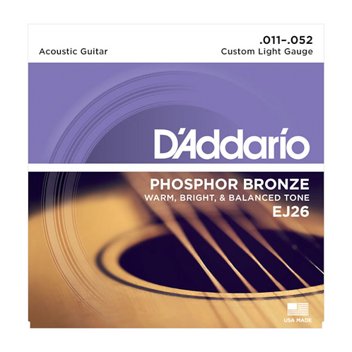 D'Addario EJ26 Phospor Bronze Acoustic Saiten