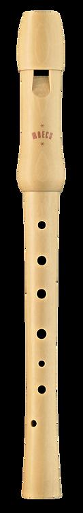 Moeck Schulflöte 1250 Sopran,  dt. Griffweise