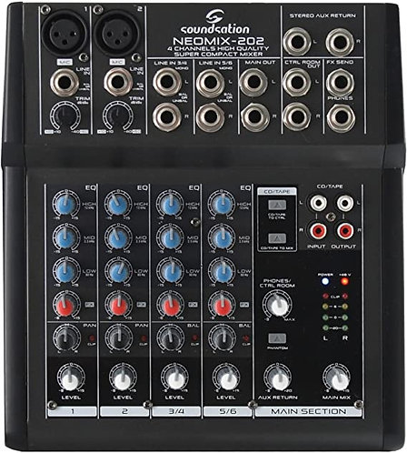 Soundsation Neomix 202