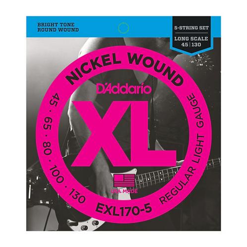 D'Addario EXL170-5 Bass Saiten