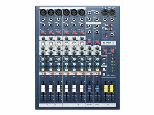 Soundcraft Mixer EPM 6