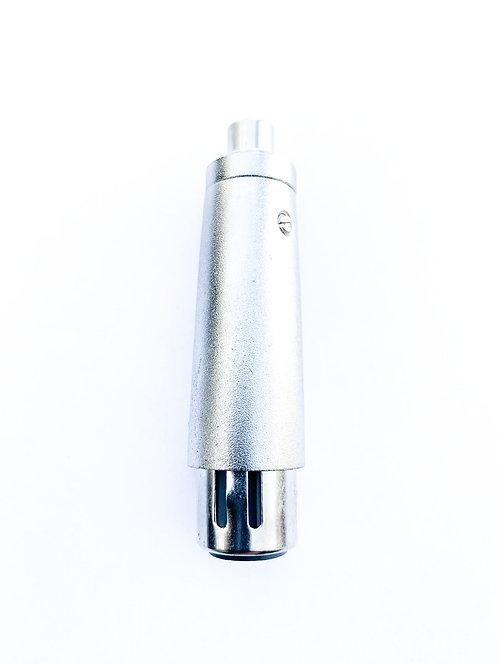 Adapter XLR female / Chinchbuchse