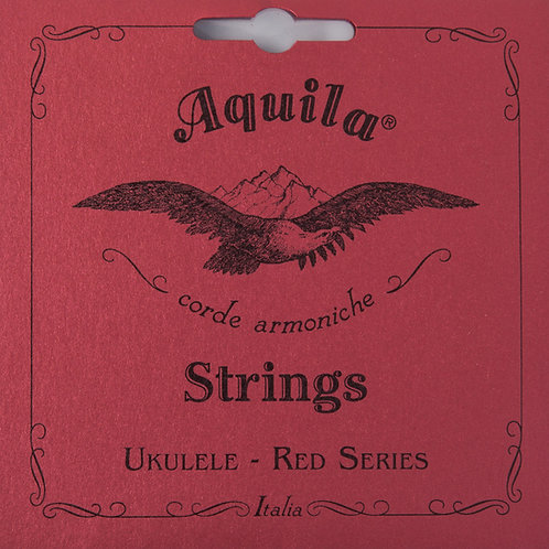 AQUILA Ukulele Strings Red Series