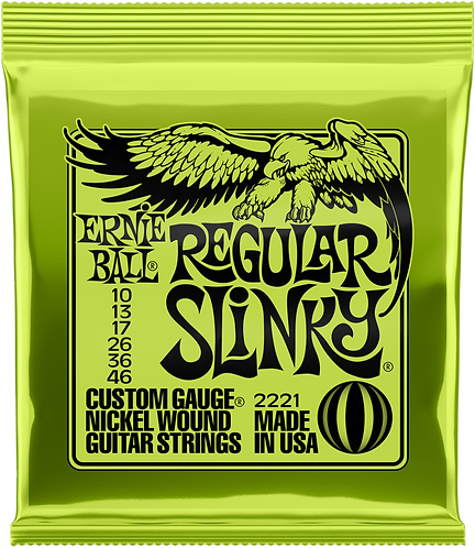 Ernie Ball Slinky Nickel, Regular