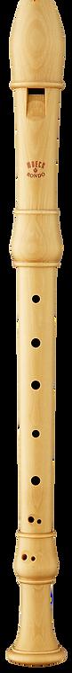 Moeck Flauto Rondo 2200 Sopran, bar. Griffweise