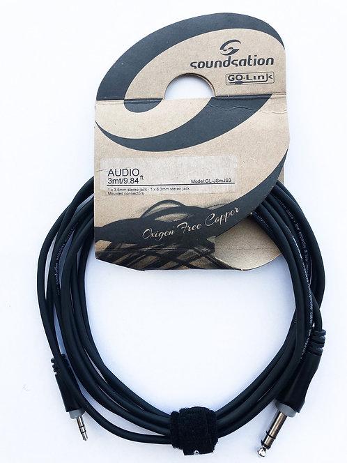 SOUNDSATION GO-Link Audiokabel Stereo/mini Stereo