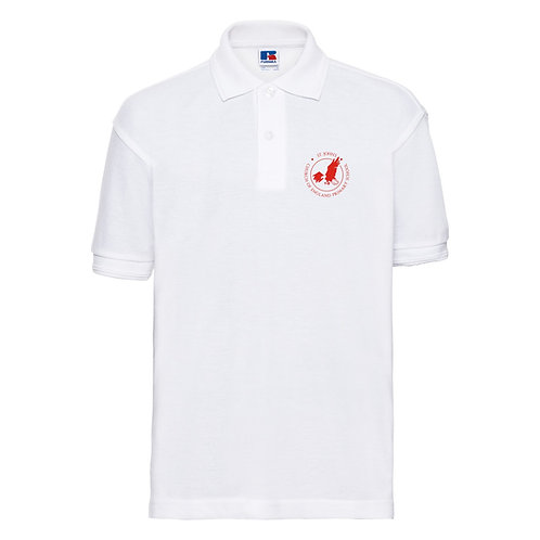 St John's CEP School Uniform - New White Polo Shirt