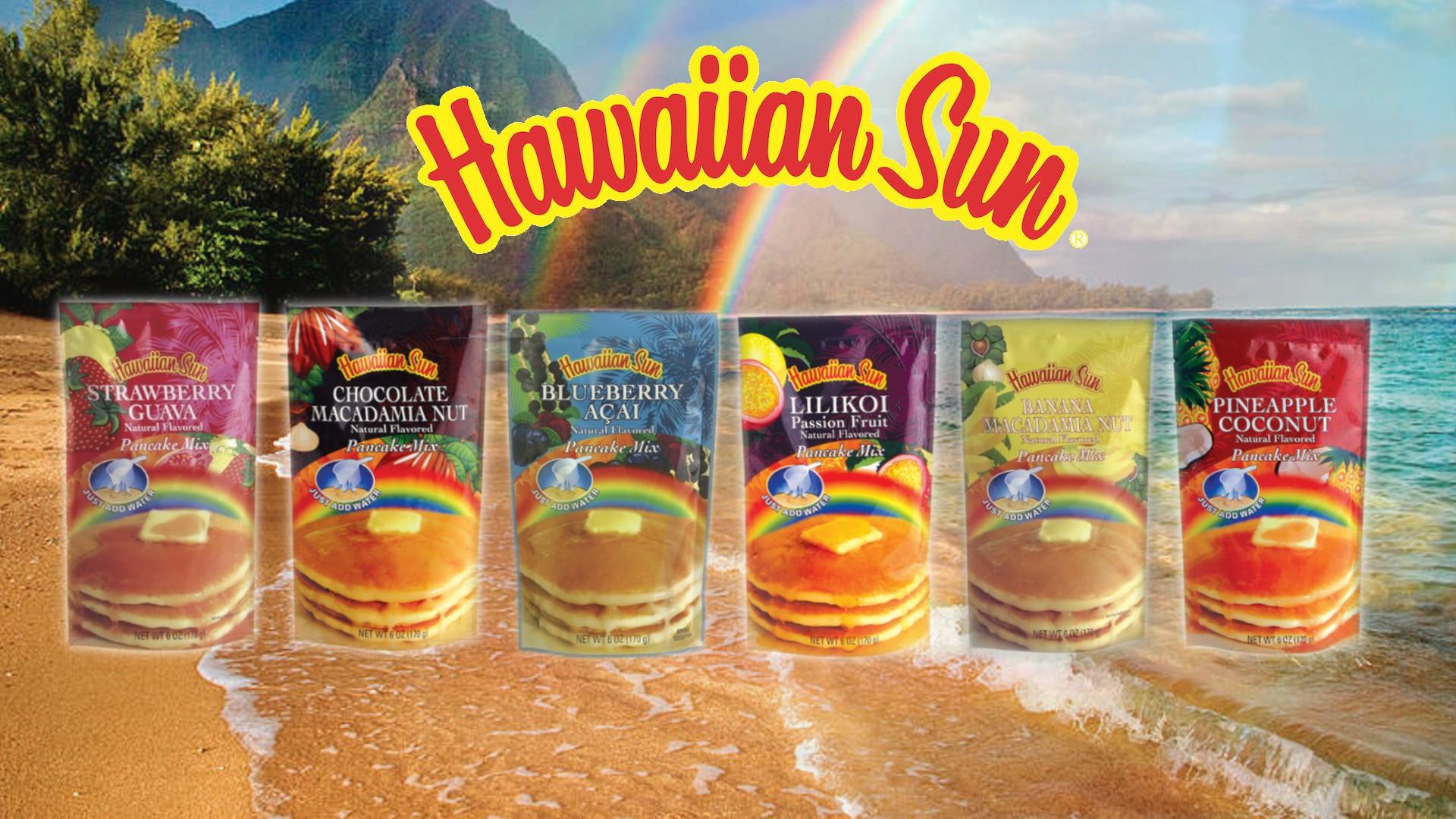 Hawaiian Sun Pancake Mix