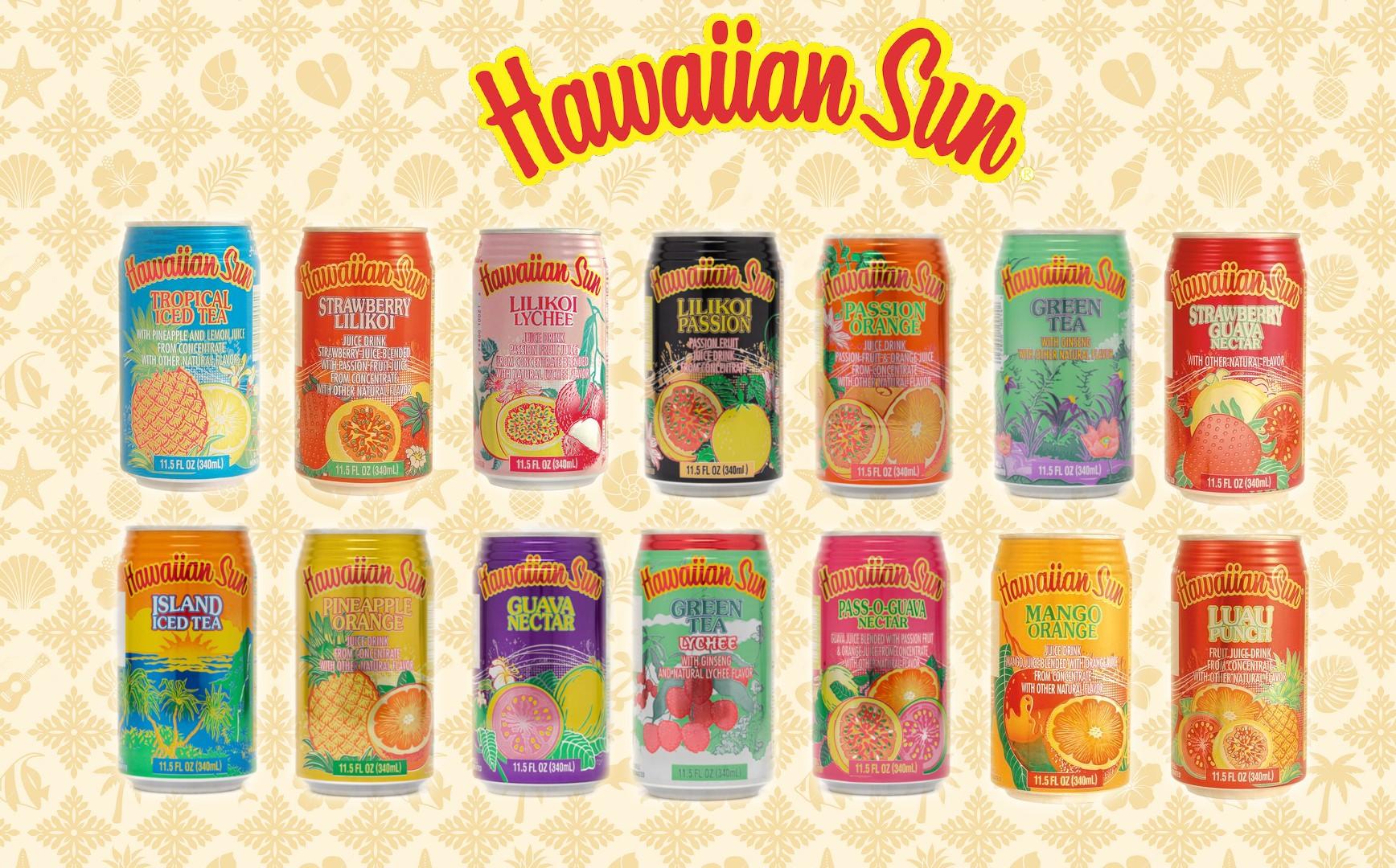 Hawaiian Sun Drinks