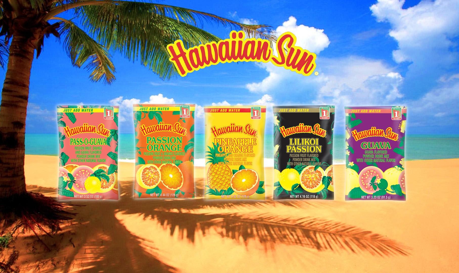 Hawaiian Sun Powdered Drinks