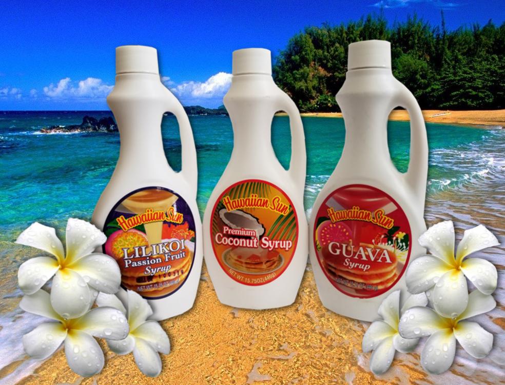 Hawaiian Sun Pancake Syrups