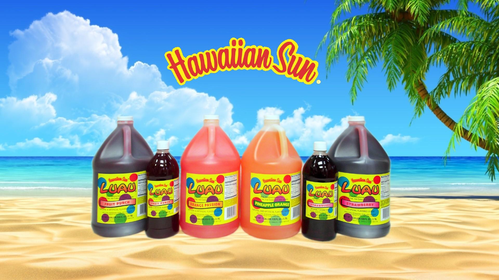 Hawaiian Sun Syrup Juice