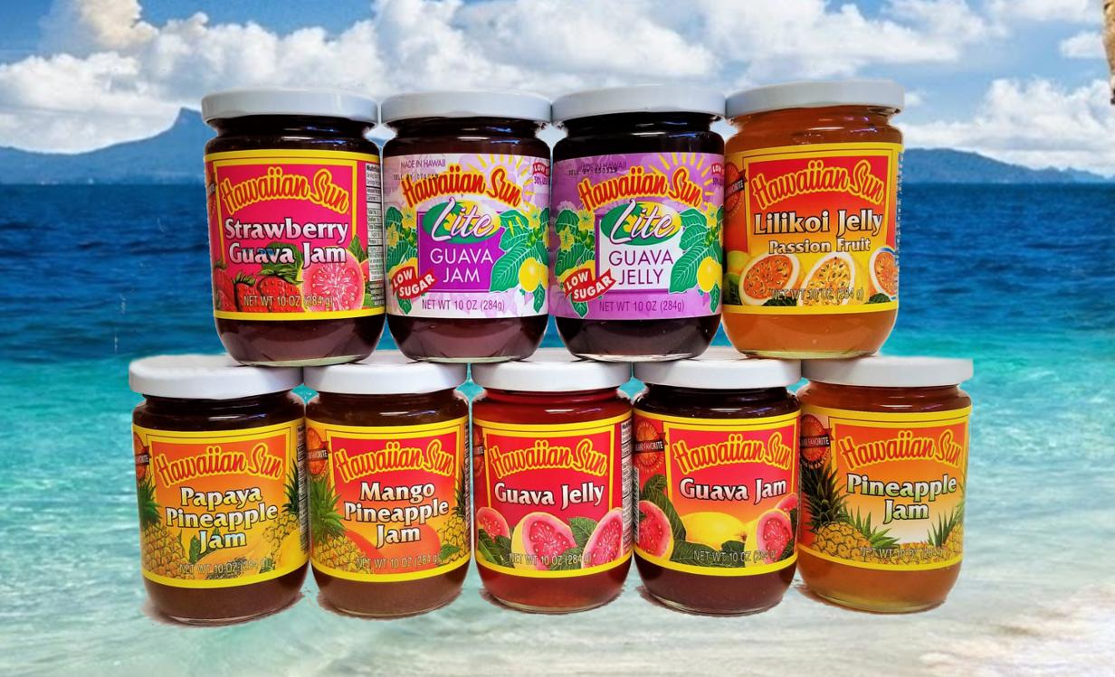 Hawaiian Sun Jam & Jellies