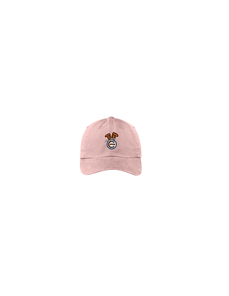 "Pink ""Let's Play Catch"" Dad Cap"